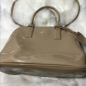 Good Cond Auth Express Patent Leather Bag